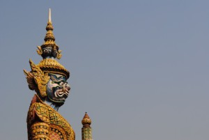 Asiatische Skulpturen (Foto: Rafa Prada, unsplash.com)